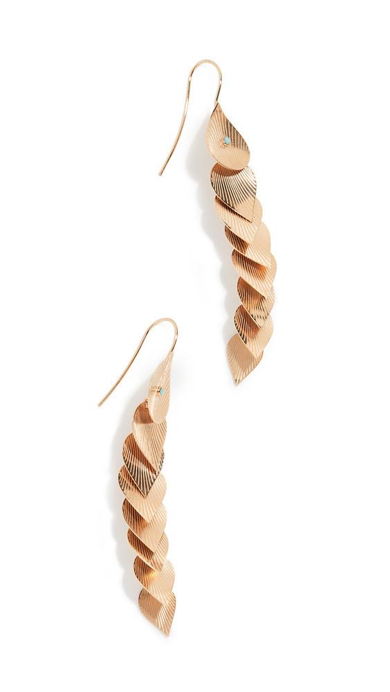 GAS Bijoux Pan Earrings in gold