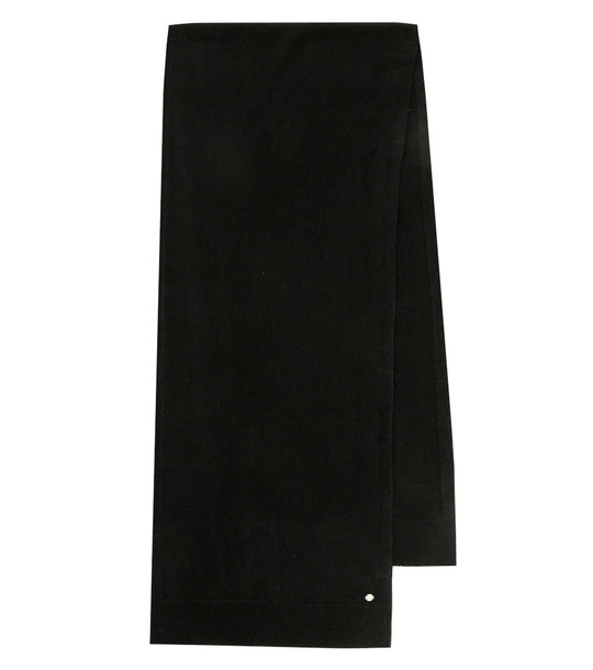 The Row Adalet cashmere scarf in black
