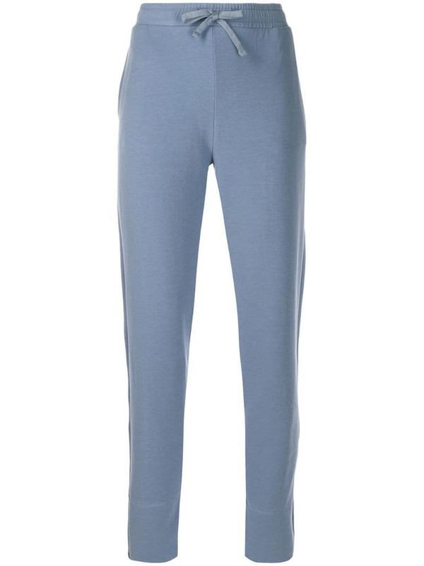 Filippa K Soft Sport drawstring track trousers in blue
