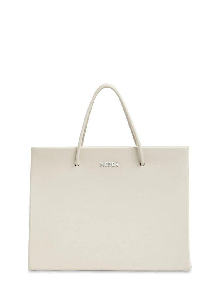 MEDEA Hanna Leather Top Handle Bag