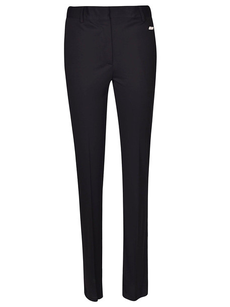 MSGM High Waisted Trousers in black