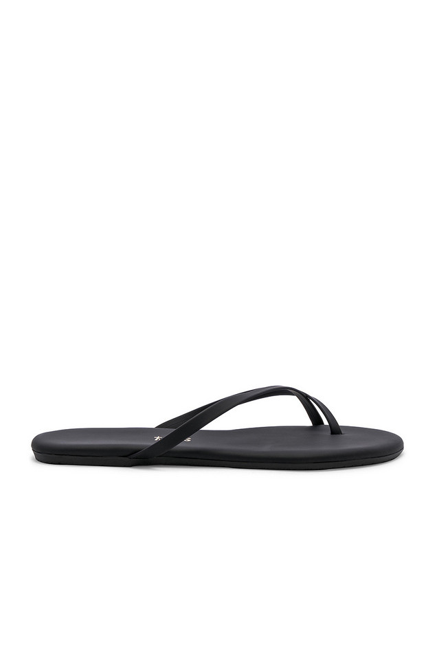 TKEES Riley Sandal in black
