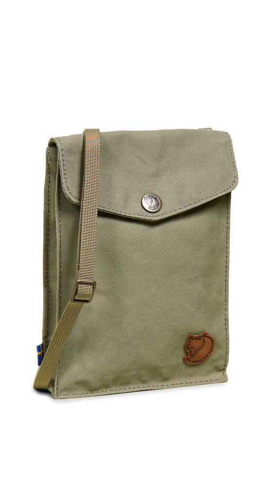 Fjallraven Pocket Cross Body Pouch in green