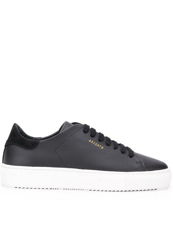Axel Arigato lace-up trainers in black