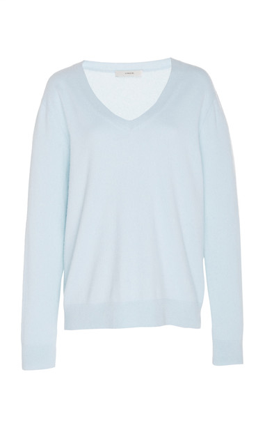 Vince Cashmere Sweater in blue