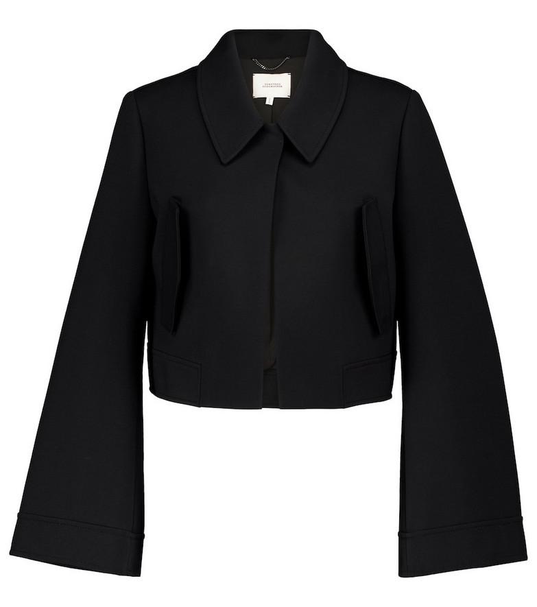 Dorothee Schumacher Cropped jacket in black