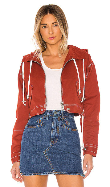 Tularosa The Mimi Jacket in Red