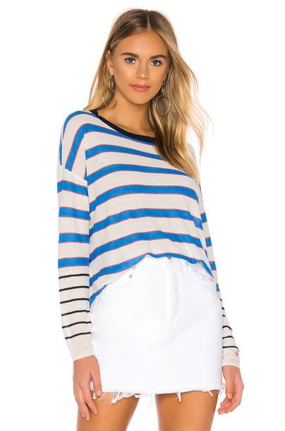 Splendid x Gray Malin Copacabana Sweater in blue