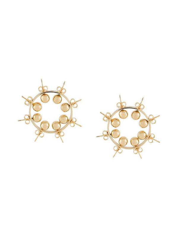 d'heygere studs earrings in gold