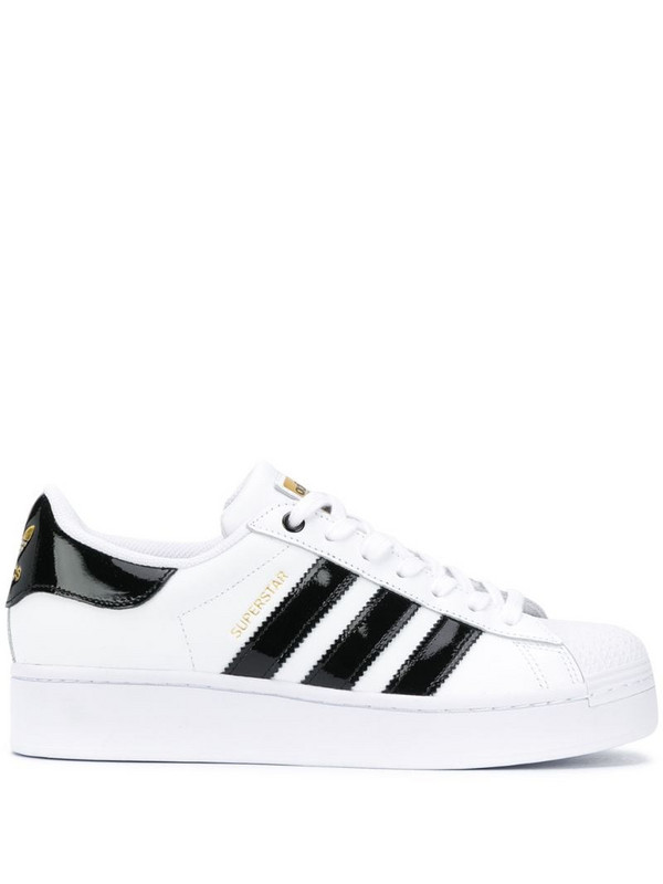 adidas Superstar Bold low-top sneakers in white
