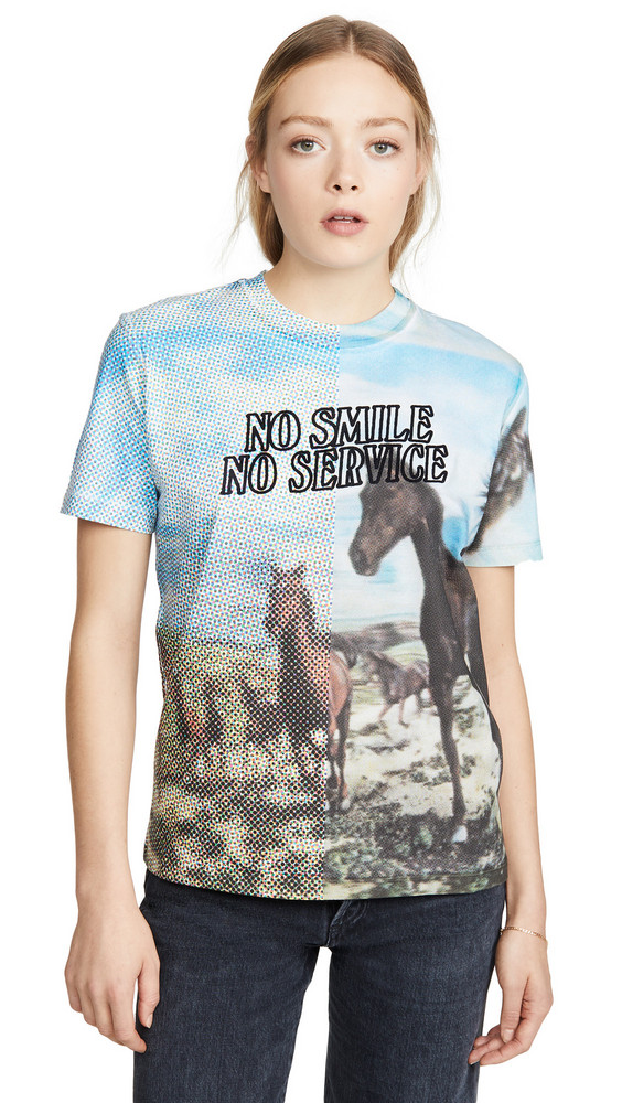 Stella McCartney T-Shirt Halftone Horse Jersey in multi