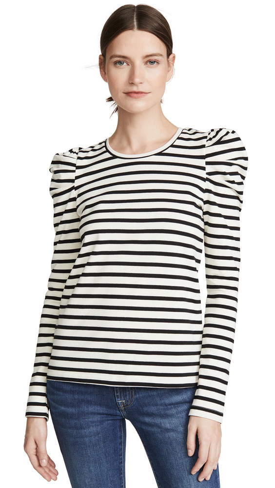 Rebecca Minkoff Talia Sweatshirt in black / white