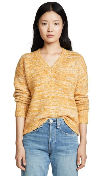 Diane von Furstenberg Carmella Sweater in ivory