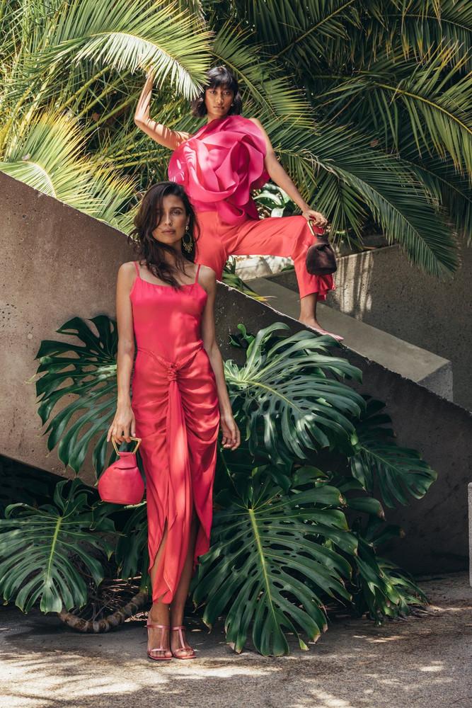 Cult Gaia Natasha Dress - Hibiscus                                                                                               $598.00