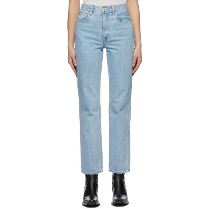 SLVRLAKE Blue London Jeans in clear