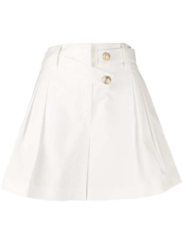 Max & Moi wide leg shorts in white