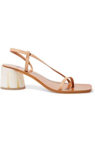 LOQ - Isla Leather Sandals in sand