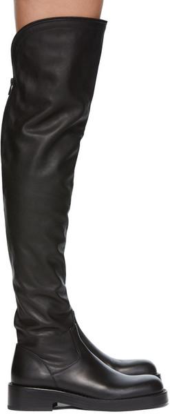 Ann Demeulemeester Nicky OTK Boots in black
