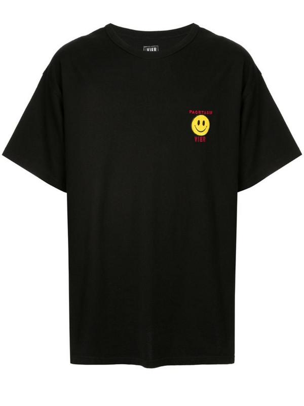Facetasm logo printed T-shirt in black