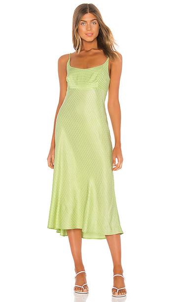 ASTR the Label Joan Dress in Green