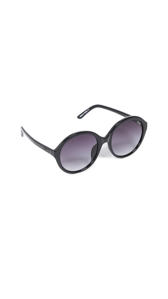 Quay Tinted Love Sunglasses in black