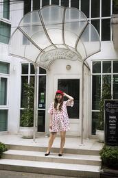 lostinthehaze,blogger,dress,hat