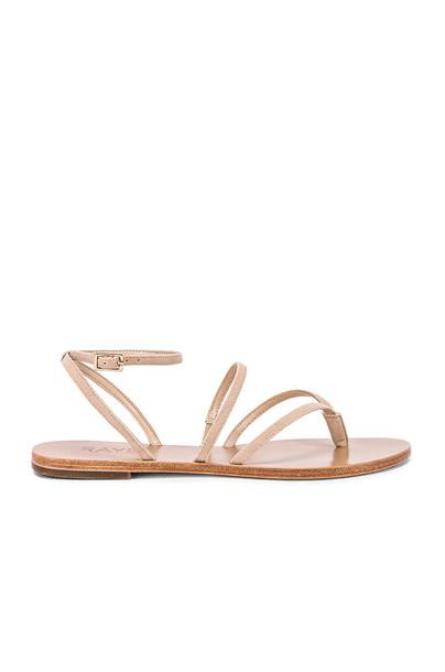 RAYE Void Sandal in beige