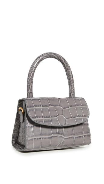 BY FAR Mini Bag in grey
