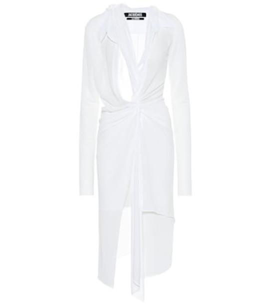 Jacquemus La Robe Bellagio dress in white