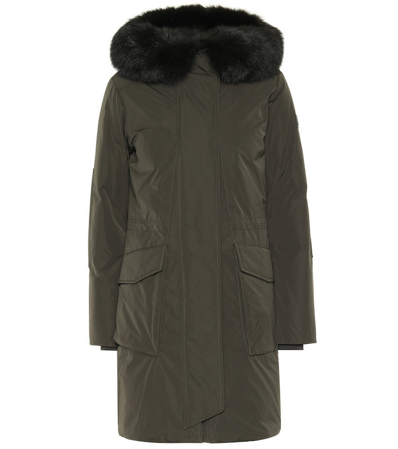 Woolrich W's Military down parka in green