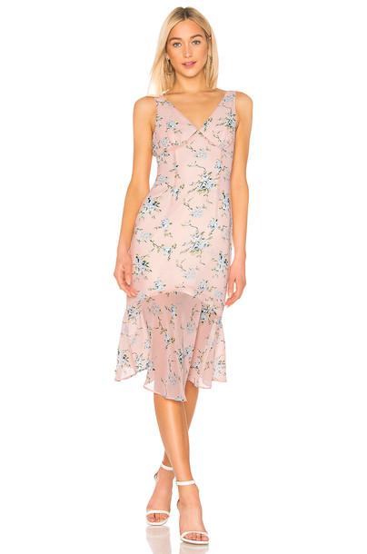 LPA Amelia Dress in pink