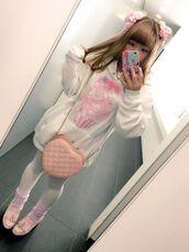 sweater,fairy kei,harajuku,kawaii