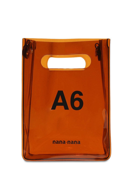 NANA NANA A6 Pvc Shopping Bag in brown
