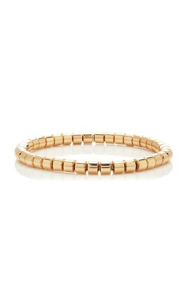 Sidney Garber Small Flexible Tubular Bracelet In Rose Gold