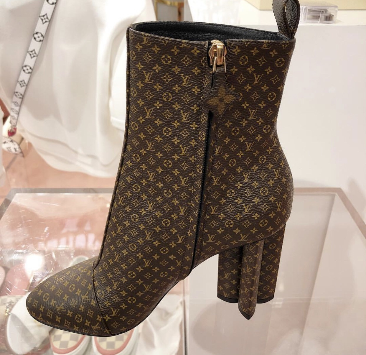 shoes louis vuitton lv booties