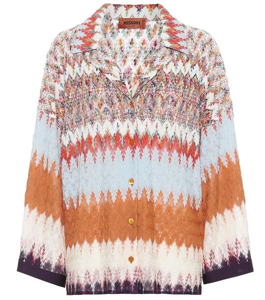 Missoni Wool-blend knit top