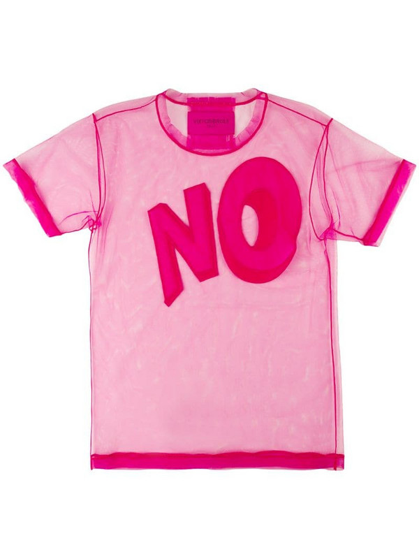 Viktor & Rolf The No Icon T-shirt in pink