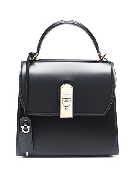 Salvatore Ferragamo Boxy Bag in nero