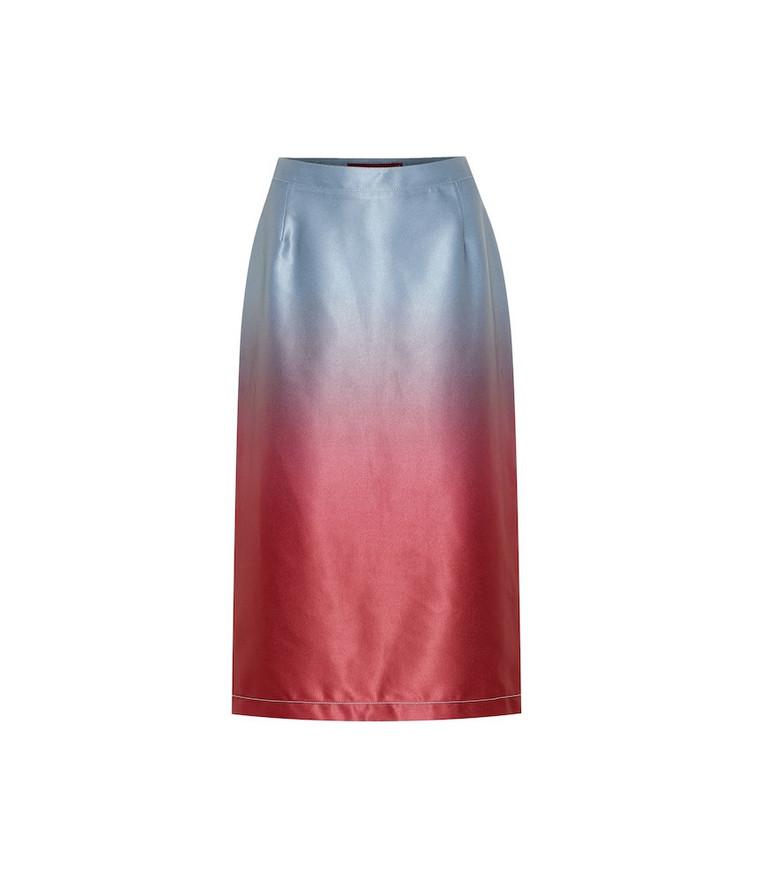 Sies Marjan Calley dégradé skirt in blue