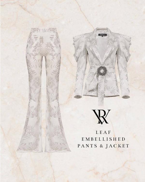 pants white pants jacket white jacket