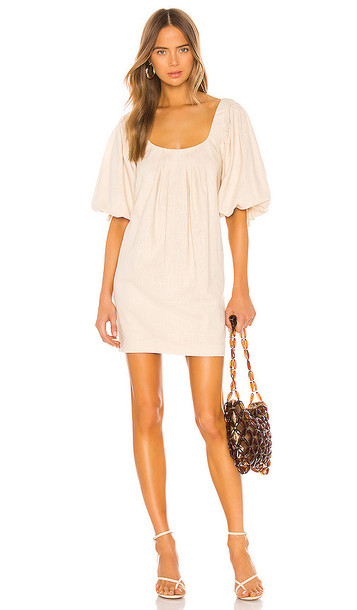 LPA Shailene Dress in Cream