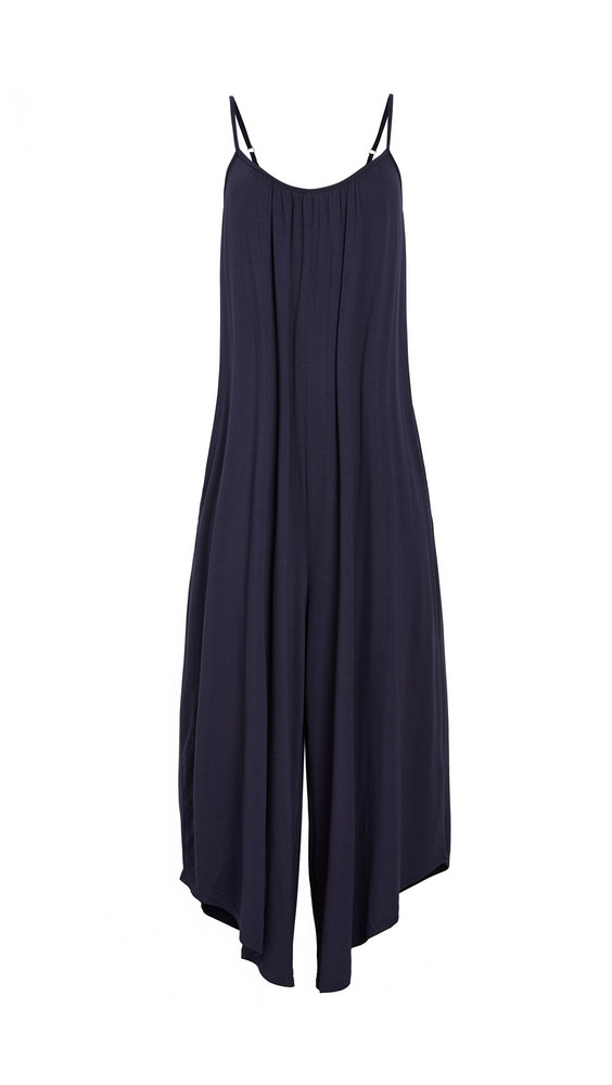 Z Supply Flared Jumpsuit in black