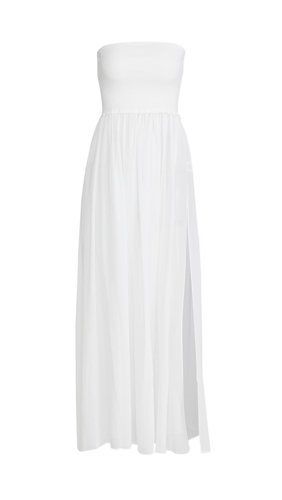 Ramy Brook Calista Dress in white