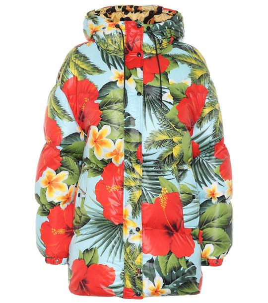 Moncler Genius 0 MONCLER RICHARD QUINN Mary floral puffer jacket
