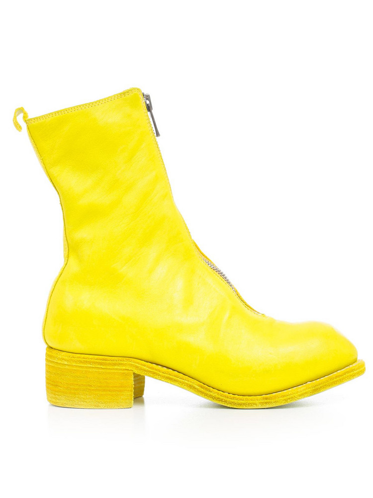 Guidi Horse Zipped Boots in yellow
