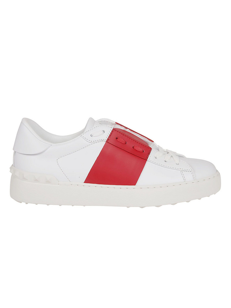 Valentino Garavani Rockstud Sneakers in bianco