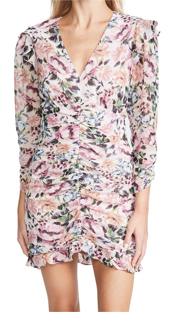 ASTR the Label Kimbra Dress in pink / multi