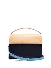bag,shoulder bag,leather,navy