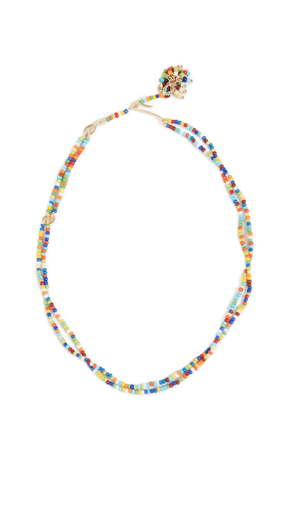 Roxanne Assoulin Sprinkle Beaded Necklace in multi