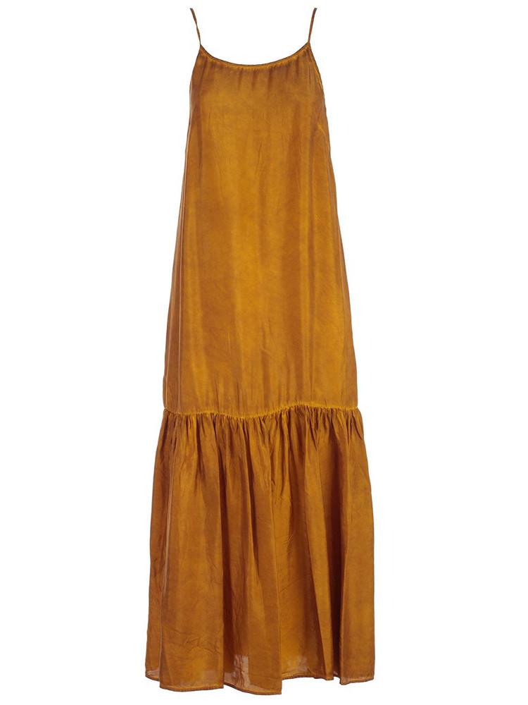 Uma Wang Dress Thin Strap W/crimped Bottom